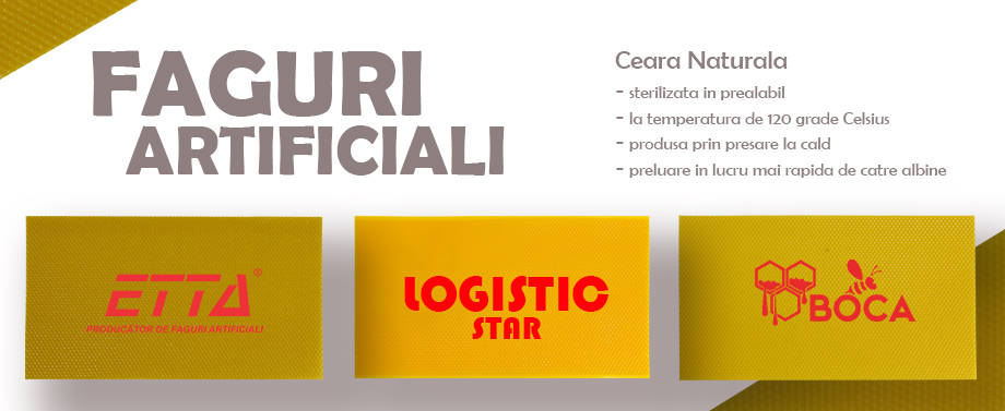 Faguri Artificiali - Etta Logistic Star Boca
