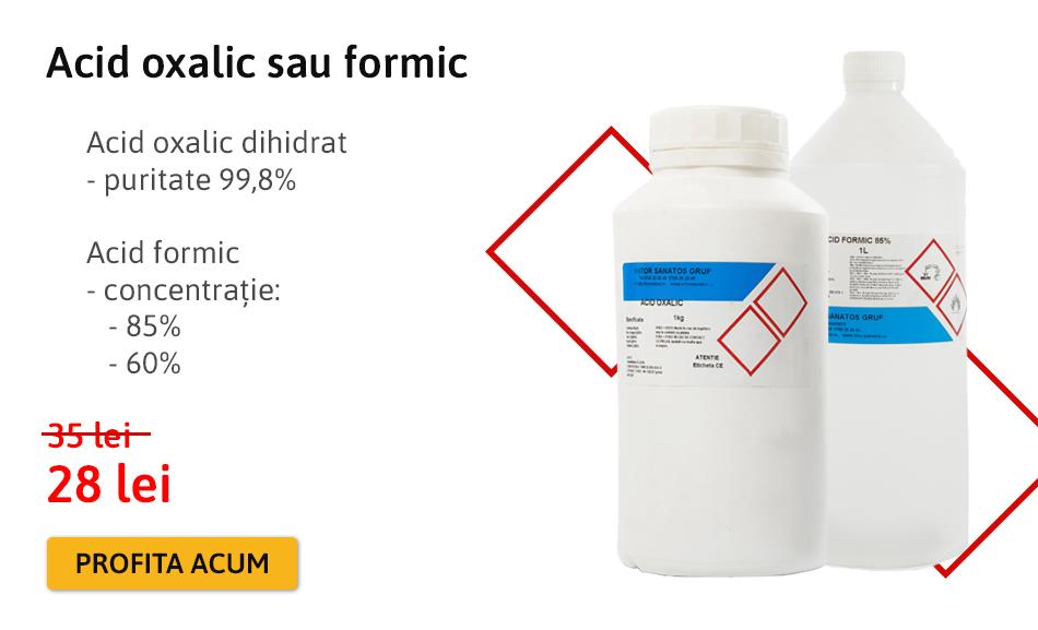Acid formic si oxalic