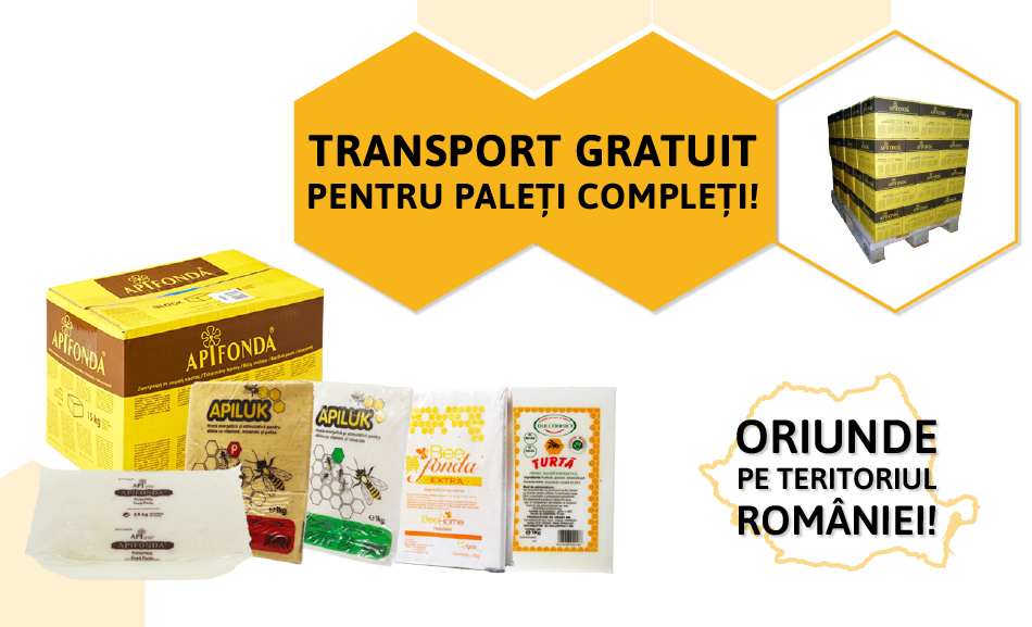 Transport gratuit pentru paleti completi