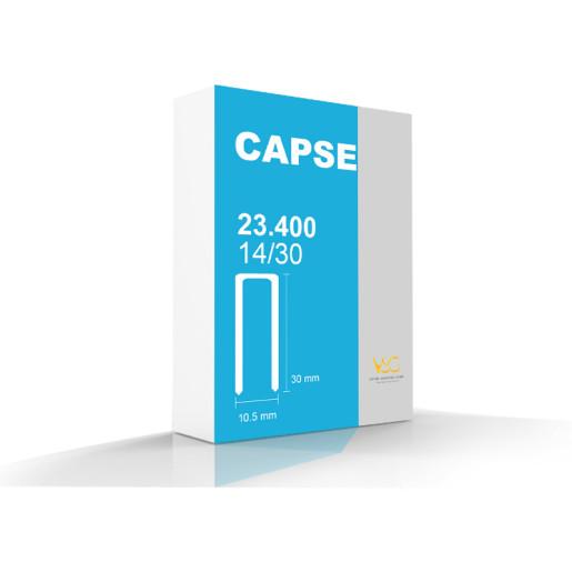 Capse tip U 14/30 pentru capsator pneumatic, 23400 buc/cutie