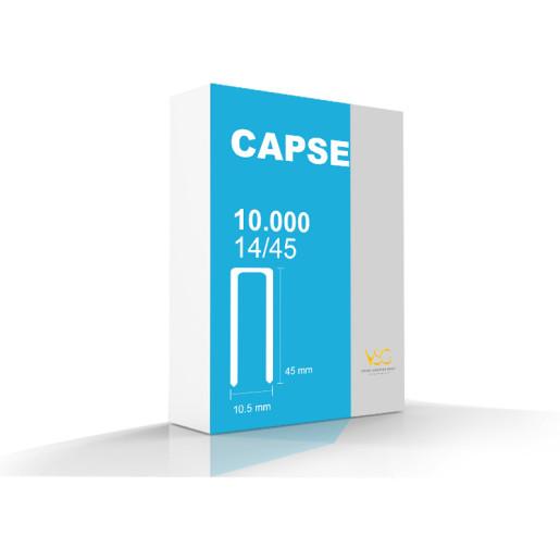 Capse tip U 14/45 pentru capsator pneumatic 1