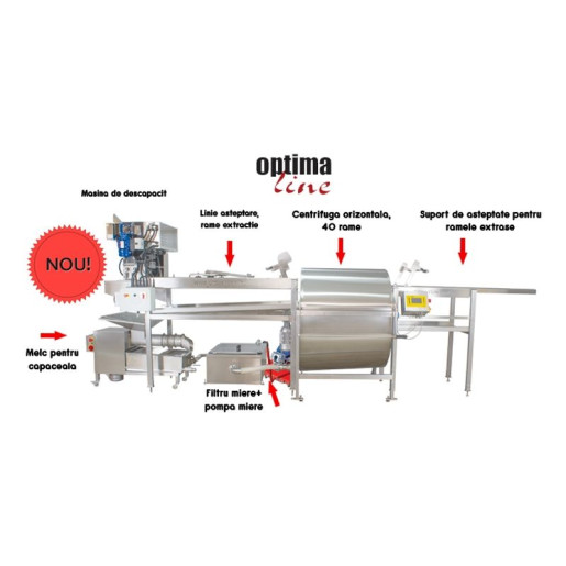 Linie extragere miere full automata Optima