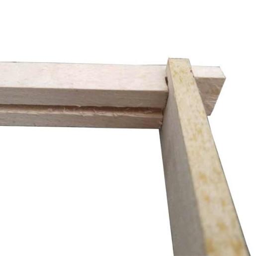 Rama lemn stup dadant pentru faguri din plastic 1 /1 2