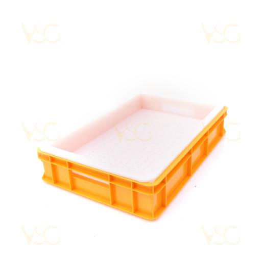 Tava descapacit 10 cm plastic cu filtru plastic si suport rame 2