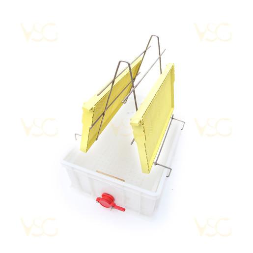 Tava descapacit 20 cm plastic cu filtru imbunatatit plastic, canea si suport rame 2