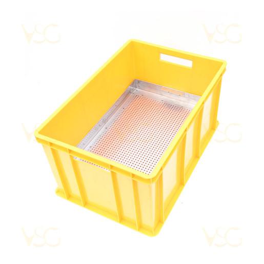 Tava descapacit 30 cm plastic cu filtru inox si suport rame 2