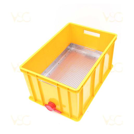 Tava descapacit 30 cm plastic cu filtru inox, canea si suport rame 2