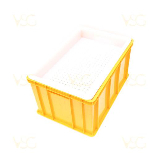 Tava descapacit 30 cm plastic cu filtru plastic si suport rame