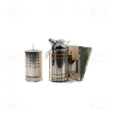 Afumator inox cu protectie sarma si cilindru