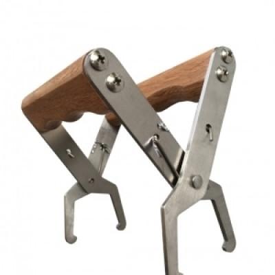 Cleste rame cu maner din lemn