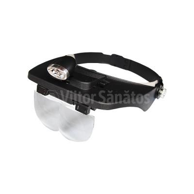 Ochelari pentru tranzvazare cu lanterna