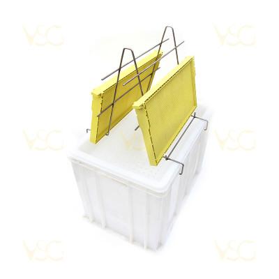 Tava descapacit 40 cm plastic cu filtru plastic si suport rame 3