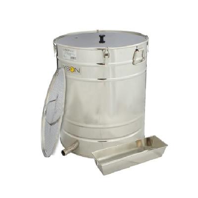 Topitor de ceara cu aburi, 100L fara generator