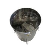 Topitor de ceara cu aburi, 100L fara generator - detaliu interior